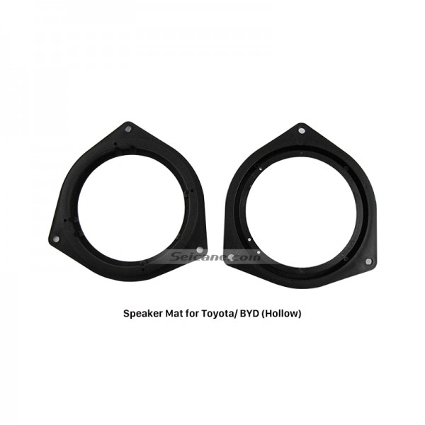 Hollow Auto Car Speaker Mat Ring Plates Bracket for Toyota/BYD
