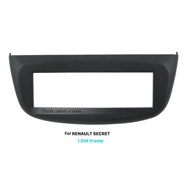 ABS Plastic 1 Din car radio Fasciafor RENAULT SECRET Dashboard Frame CD Trim Installlation Kit Auto Stereo Interface Panel