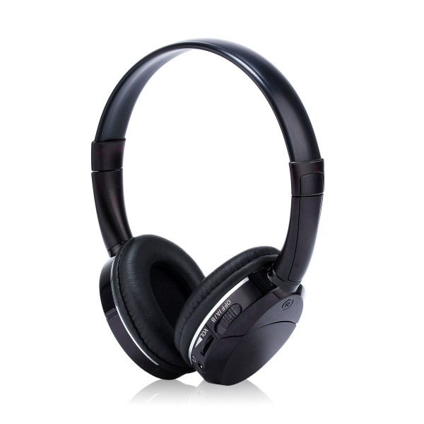 Car Audio Infrared IR Wireless Headphone High Fidelity Headset  DVD Player Stereo Dual Channel Earphone