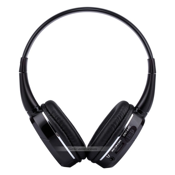 Seicane Headphone Indoor Bluetooth Headset for PC Car Stereo Transmitter Headrest DVD Player TV Dual Channel