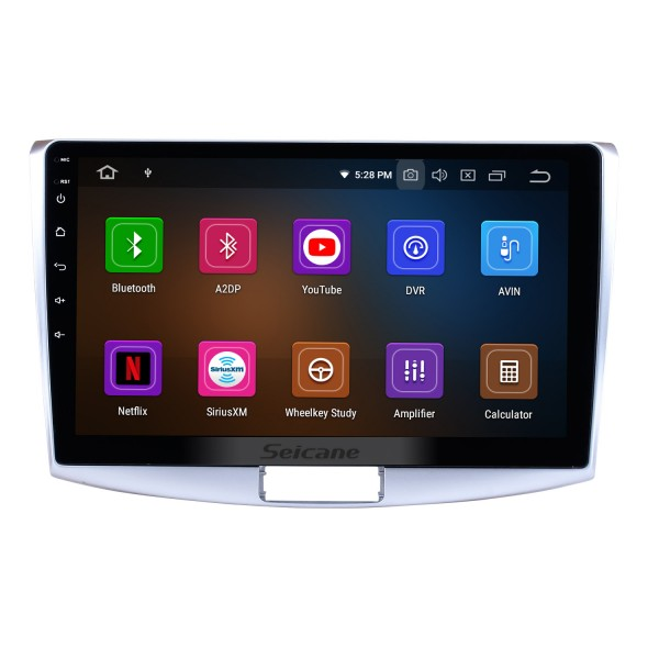 10.1 Inch Aftermarket Android 10.0 Radio GPS Navigation system For 2012-2015 VW Volkswagen MAGOTAN 1024*600 Touch Screen TPMS DVR OBD II Wheel Steering Control USB Bluetooth WiFi Video AUX