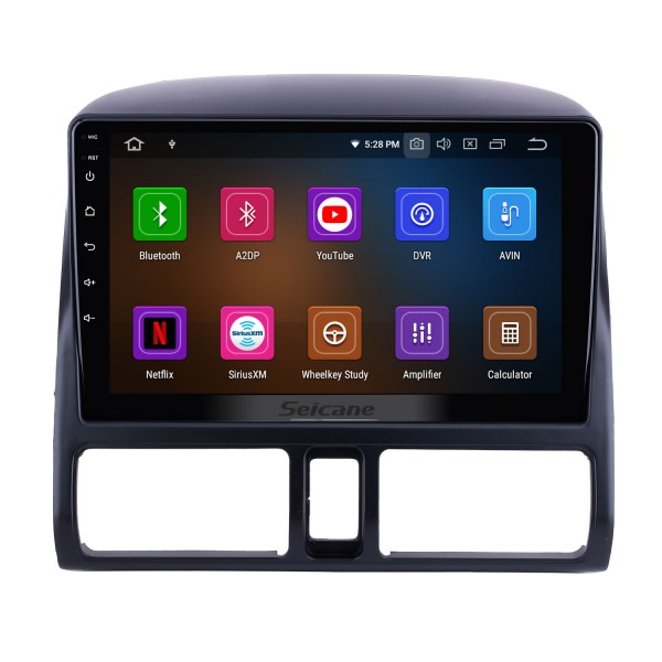 OEM 9 inch Android 10.0 for 2002 Honda CRV Radio Bluetooth HD Touchscreen GPS Navigation System Carplay support DVR Backup camera