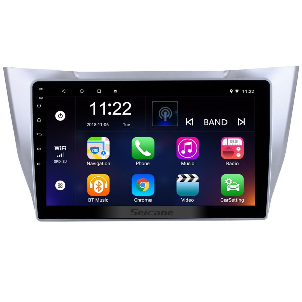 Android 10.0 10.1 inch HD Touchscreen GPS Navigation Radio for 2003-2010 Lexus RX300 RX330 RX350 with Bluetooth WIFI support Carplay SWC
