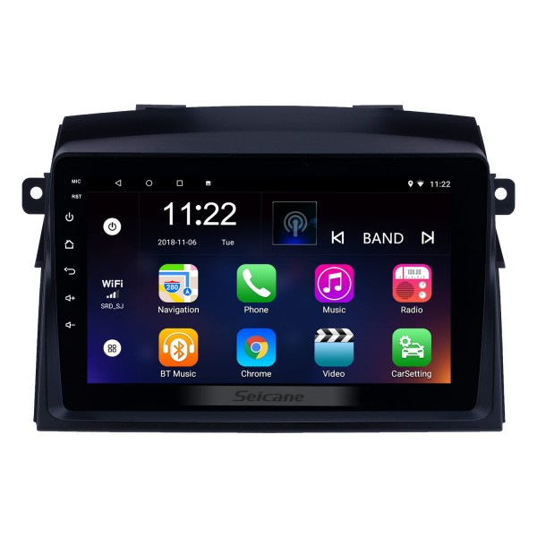 8 inch 2004-2010 Toyota Sienna Android 10.0 GPS Navigation Radio Bluetooth Music HD Touchscreen support Digital TV Carplay Steering Wheel Control