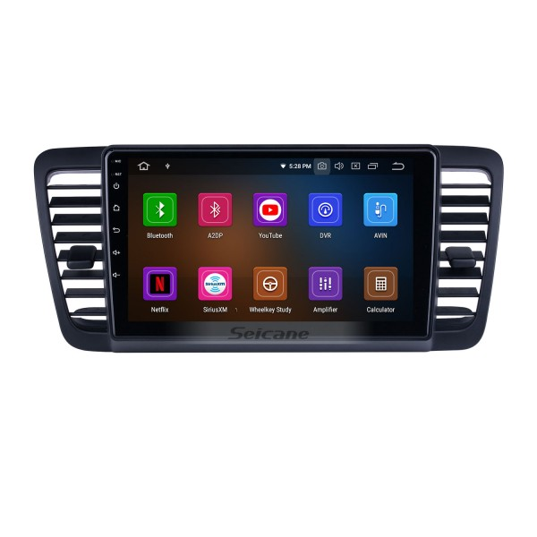 HD Touchscreen 9 inch for 2004 2005 2006-2009 Subaru Legacy Radio Android 10.0 GPS Navigation System Bluetooth Carplay support DSP TPMS