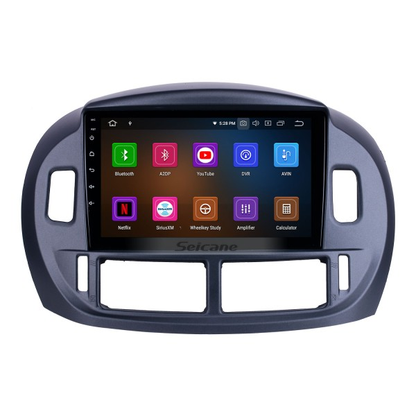 HD Touchscreen 9 inch for 2004 Toyota Previa Radio Android 10.0 GPS Navigation System Bluetooth WIFI Carplay support DSP OBD2