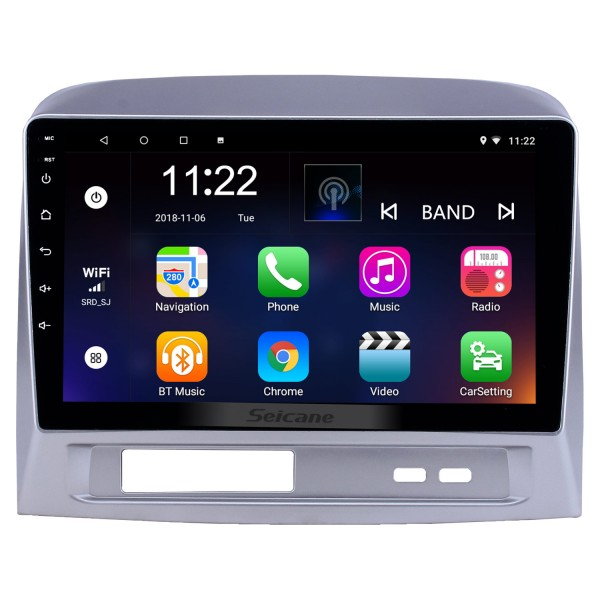 HD Touchscreen 9 inch Android 10.0 GPS Navigation Radio for 2004 Toyota Vios with Bluetooth AUX Music support DVR Carplay Steering Wheel Control