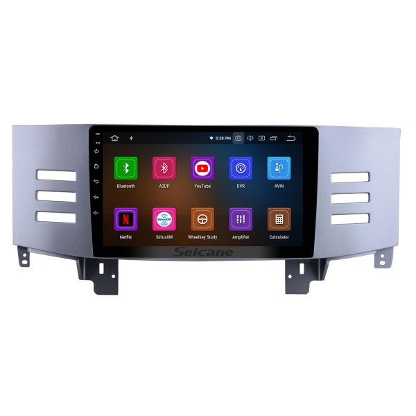 9 inch 2005 2006 2007 2008 2009 Toyota Old Reiz Android 10.0 HD Touchscreen Radio GPS Navigation system Support Bluetooth OBD2 USB WIFI DVR Mirror Link Carplay