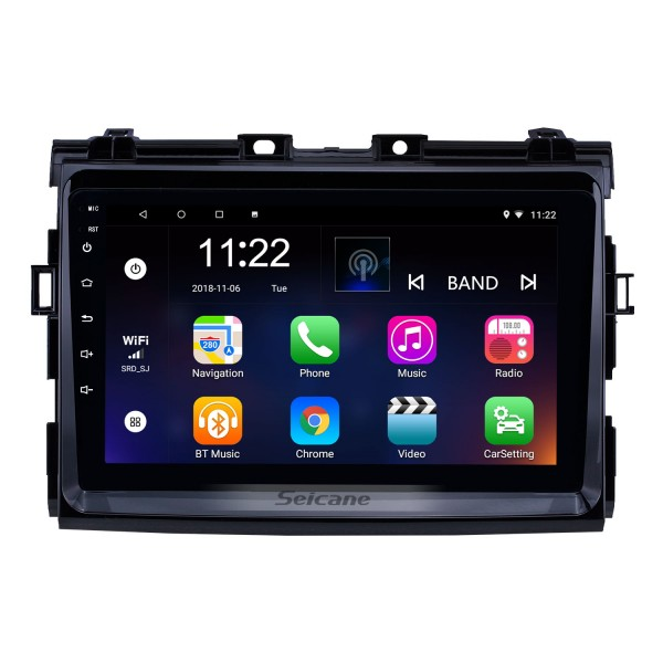 2006 2007 2008-2012 Toyota Previa Android 10.0 Touchscreen 9 inch Head Unit Bluetooth GPS Navigation Radio with AUX support OBD2 DVR SWC Carplay