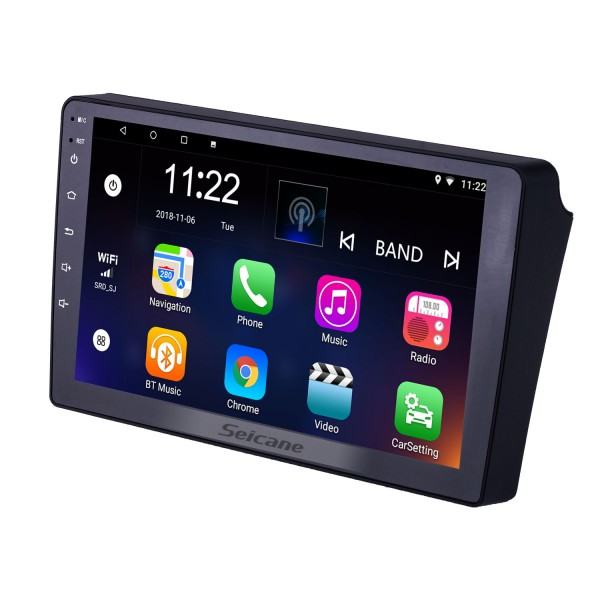Android 10.0 9 inch Touchscreen GPS Navigation Radio for 2006-2010 Hyundai Azera with Bluetooth USB WIFI AUX support Rear camera Carplay SWC