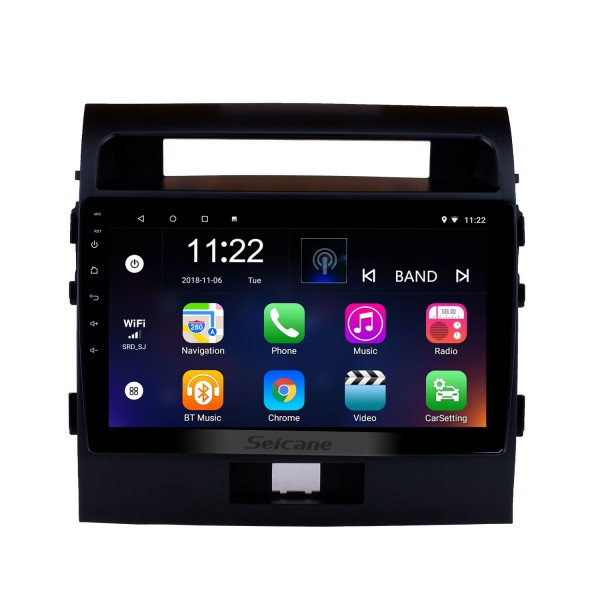 2007-2017 Toyota Cruiser FJ 10.1 inch Android 10.0 Radio GPS Navigation System with Touchscreen Bluetooth OBD2 3G WiFi AUX Steering Wheel Control