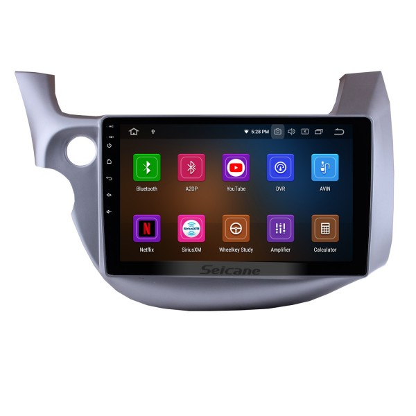2007-2013 Honda Fit (LHD) Android 10.0 10.1 inch GPS Navigation System with Bluetooth Radio OBD2 Backup Camera Digital TV Steering wheel Control Mirror Link