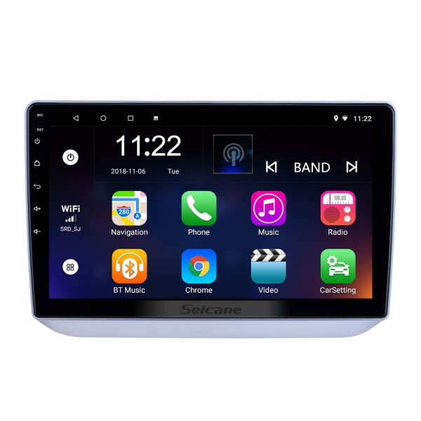 10.1 inch Android 10.0 for 2008 2009 2010-2014 Skoda Fabia Radio GPS Navigation System With HD Touchscreen Bluetooth support Carplay DVR