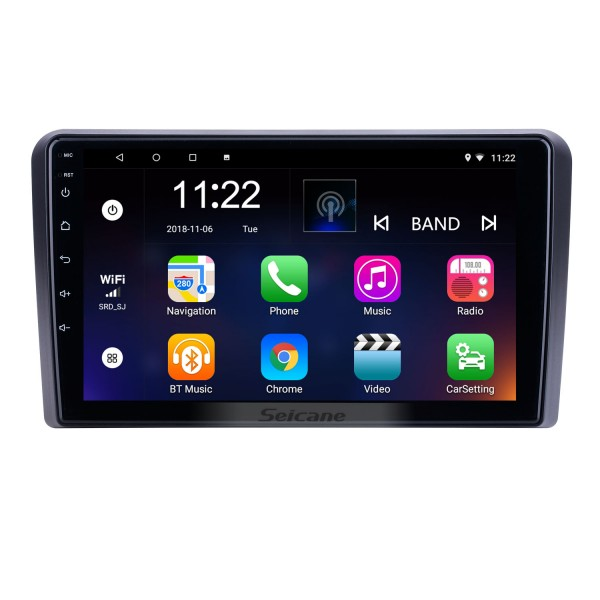 Android 10.0 9 inch for 2008 2009 2010 2011 2012 Audi A3 Radio HD Touchscreen GPS Navigation with Bluetooth AUX support Carplay DVR