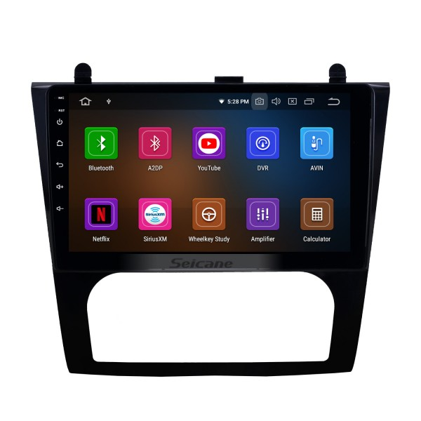 OEM 9 inch Android 10.0 HD Touchscreen Bluetooth Radio for 2008-2012 Nissan Teana ALTIMA Auto A/C with GPS Navigation USB FM auto stereo Wifi AUX support DVR TPMS Backup Camera OBD2 SWC