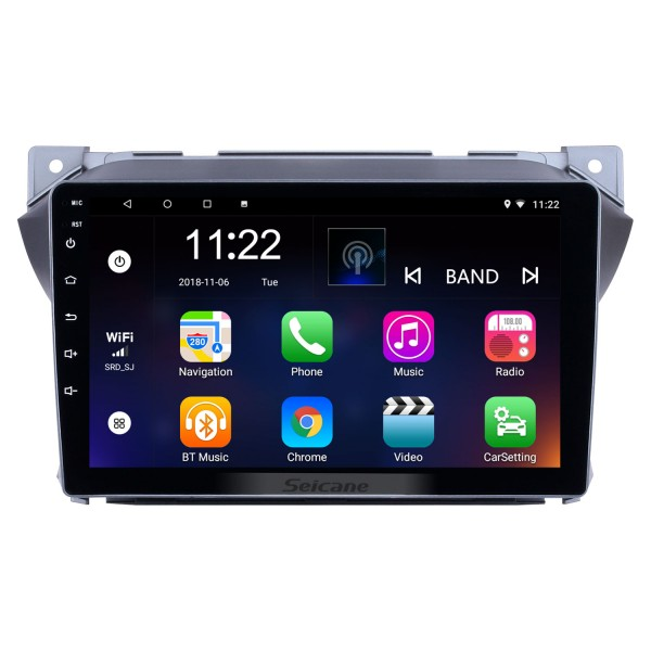9 inch Android 10.0 OEM HD Touchscreen Head unit for 2009-2016 Suzuki alto GPS Navigation Radio USB Bluetooth music support Steering Wheel Control 3G WIFI TPMS DAB+ OBD2