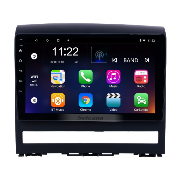 Android 10.0 9 inch HD Touchscreen GPS Navigation Radio for 2009 Fiat Perla with Bluetooth USB WIFI support Carplay DVR OBD2
