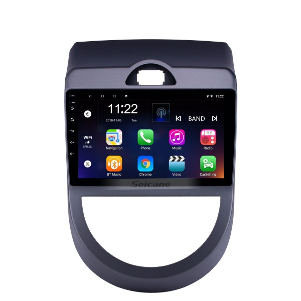 Android 10.0 9 inch HD Touchscreen GPS Navigation Radio for 2010-2013 Kia Soul with Bluetooth WIFI USB AUX support Carplay DVR SWC