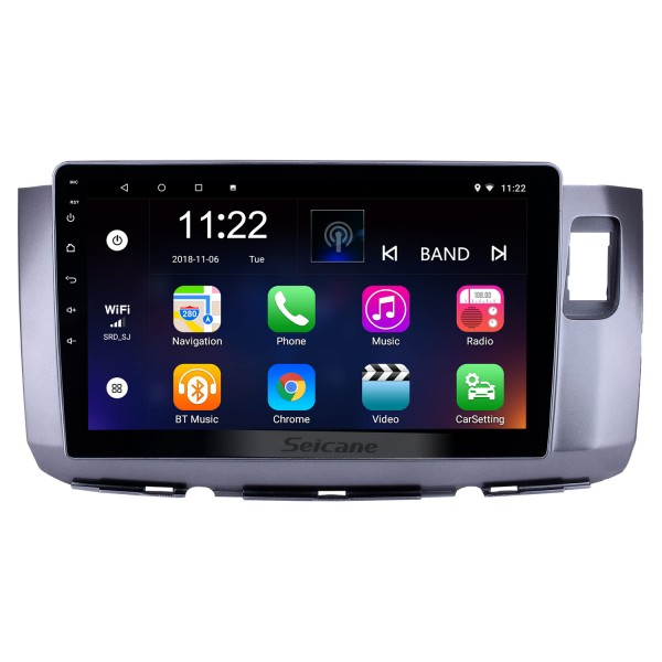 10.1 inch Android 10.0 GPS Navigation Radio for 2010 Perodua Alza with HD Touchscreen Bluetooth USB WIFI AUX support Carplay SWC TPMS
