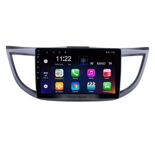 Android 10.0 10.1 inch 2011-2015 Honda CRV HD 1024*600 Touchscreen Radio GPS Navigation system with Bluetooth DVR WIFI Mirror Link 1080P Steering Wheel Control
