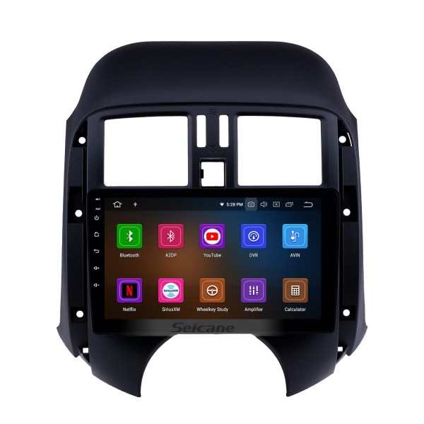 All in one Android 10.0 GPS Navigation 9 inch HD Touchscreen Stereo for 2011-2013 Nissan Old Sunny Bluetooth FM WIFI USB Steering Wheel Control USB Carplay AUX support DVR OBD2