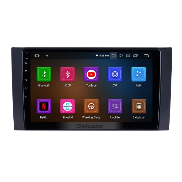10.1 inch For 2012 2013 2014-2017 Foton Tunland Radio Android 10.0 GPS Navigation System Bluetooth HD Touchscreen Carplay support OBD2