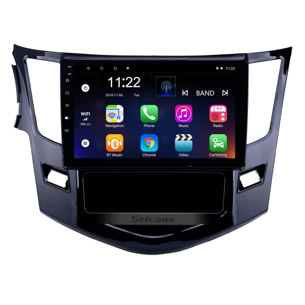 HD Touchscreen 9 inch Android 10.0 GPS Navigation Radio for 2012-2016 BYD Surui with Bluetooth AUX WIFI support Carplay TPMS DAB+