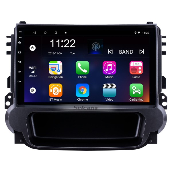 9 inch Android 10.0 2012 2013 2014 Chevy Chevrolet Malibu Radio GPS Navigation System with 1024*600 Touchcreen Bluetooth Backup Camera DVR Steering Wheel Control Mirror Link