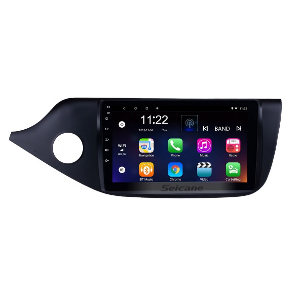 9 inch Android 10.0 2012 2013 2014 Kia Ceed LHD HD Touch Screen Radio GPS Navigation Bluetooth  Rearview Camera TV 3G WIFI 1080P Steering Wheel Control