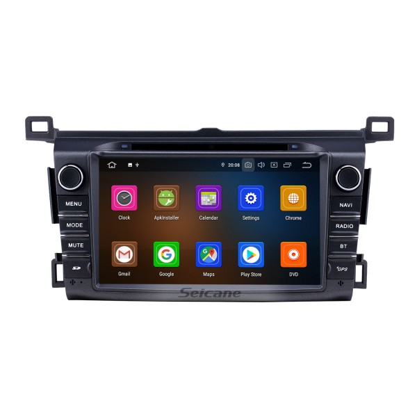 8 inch Android 10.0 GPS Navigation Radio for 2013-2016 Toyota RAV4 with Carplay Bluetooth WIFI USB support Mirror Link