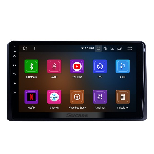 9 inch For 2014 2015 2016-2019 Kia Carnival/Sedona Radio Android 10.0 GPS Navigation System Bluetooth HD Touchscreen Carplay support OBD2