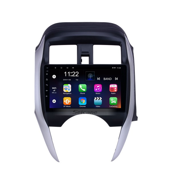 Android 10.0 9 inch HD Touchscreen GPS Navigation Radio for 2014-2018 Nissan Sunny/Almera RHD with Bluetooth support Carplay DVR OBD2