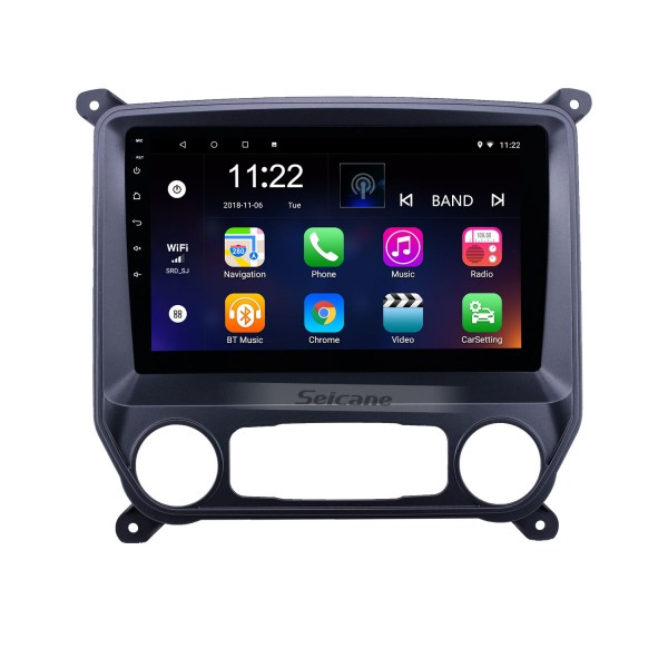 HD Touchscreen 10.1 inch Android 10.0 GPS Navigation Radio for 2014-2018 chevy Chevrolet Colorado with Bluetooth USB WIFI AUX support DVR Carplay SWC 3G