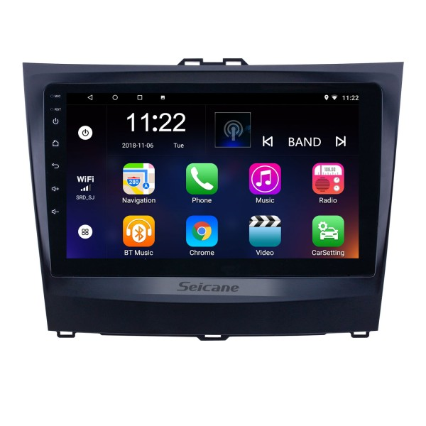 Android 10.0 9 inch HD Touchscreen GPS Navigation Radio for 2014-2015 BYD L3 with Bluetooth WIFI AUX support Carplay DVR OBD2