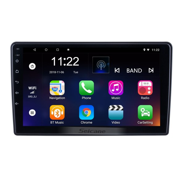 HD Touchscreen 9 inch for 2015 2016 2017 2018 Citroen Beringo Radio Android 10.0 GPS Navigation with Bluetooth support Carplay Rear camera