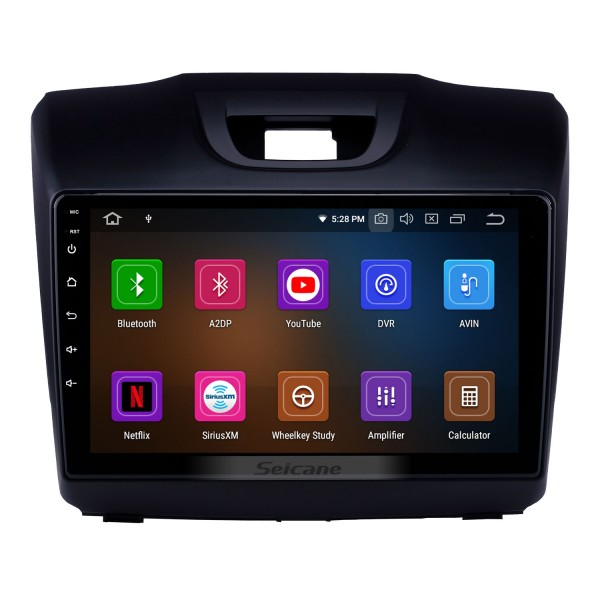 2015 2016 2017 2018 ISUZU D-Max 9 inch Android 10.0 HD Touchscreen Bluetooth GPS Navi Radio with Carplay USB WIFI AUX support DVR 1080P TPMS OBD DVD SWC