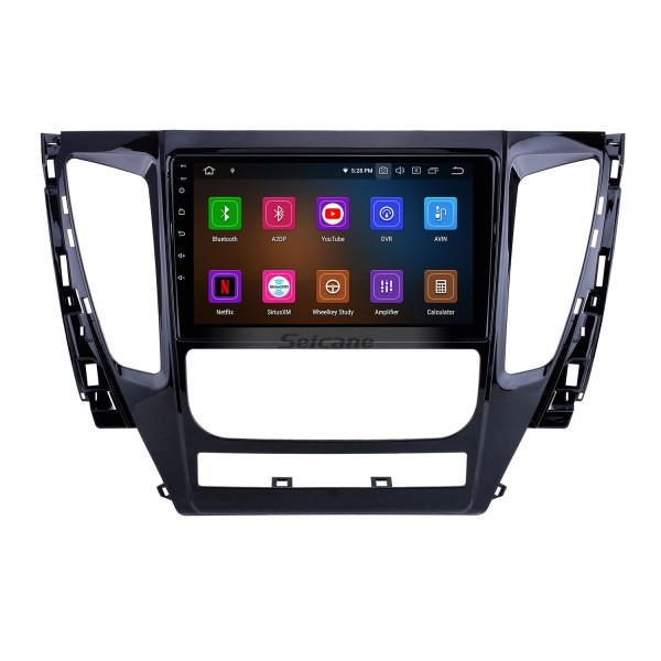 Android 10.0 For 2015 2016 2017 Mitsubishi Pajero Sport Radio 9 inch GPS Navigation System Bluetooth HD Touchscreen Carplay support SWC