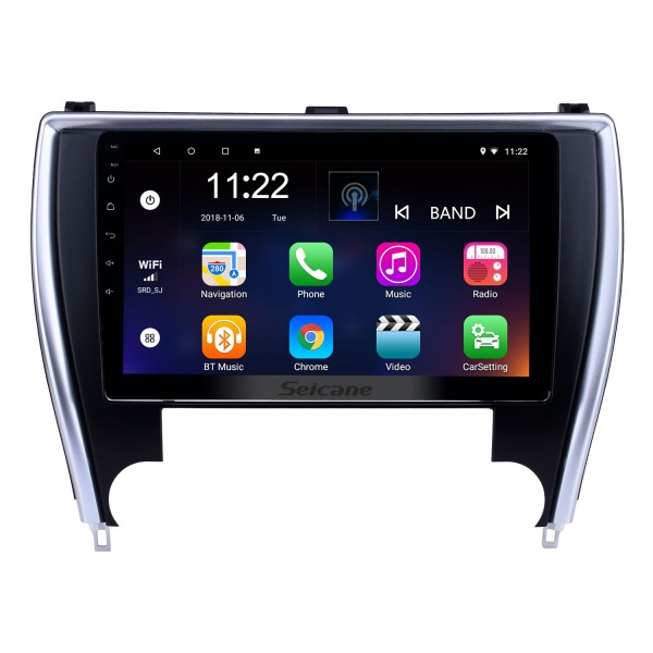 10.1 inch HD Touchscreen Android 10.0 GPS Navigation Radio for 2015 Toyota Camry(America version) with Bluetooth support Carplay TPMS