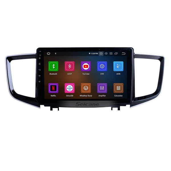HD Touchscreen Android 10.0 for 2016 Honda Pilot Radio 10.1 inch GPS Navigation System Bluetooth Carplay support DAB+ Backup camera