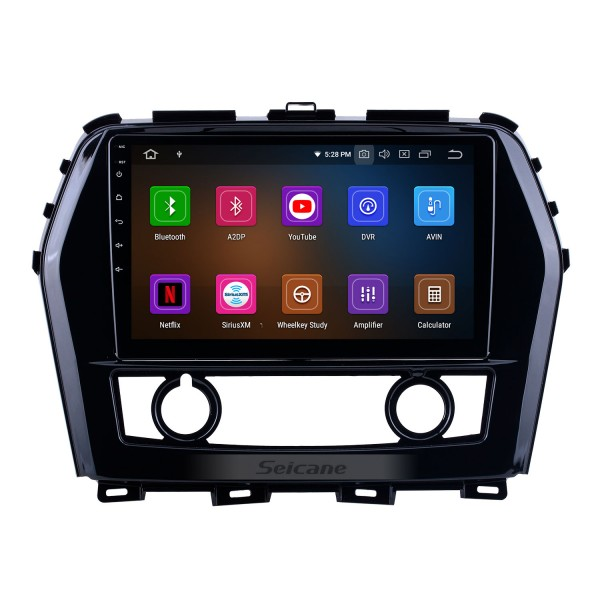 10.1 inch For 2016 Nissan Teana/Maxima Radio Android 10.0 GPS Navigation System with HD Touchscreen Bluetooth Carplay support Backup camera
