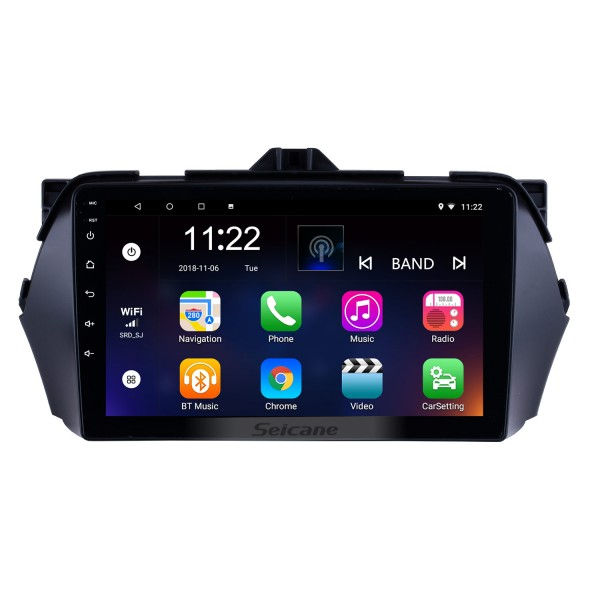 9 Inch Android 10.0 HD touchscreen GPS Navigation System For 2016 Suzuki Alivio Bluetooth Radio Remote Control