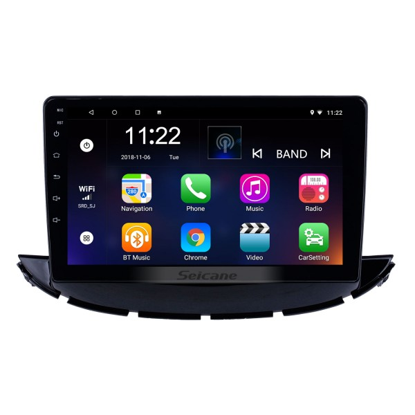 OEM 9 inch Android 10.0 Radio for 2017-2019 Chevy Chevrolet Trax Bluetooth HD Touchscreen GPS Navigation support Carplay DVR OBD
