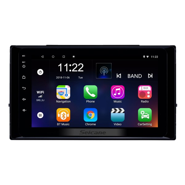 8 inch Android 10.0 HD Touchscreen GPS Navigation Radio for 2017 2018 2019 Toyota Corolla with Bluetooth USB WIFI support Steering Wheel Control Carplay