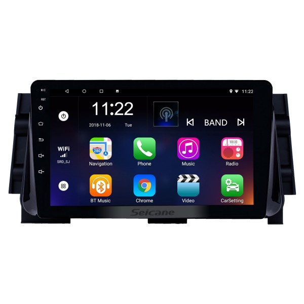 Android 10.0 9 inch HD Touchscreen GPS Navigation Radio for 2017 Nissan Micra with Bluetooth USB WIFI AUX support Backup camera Carplay SWC OBD