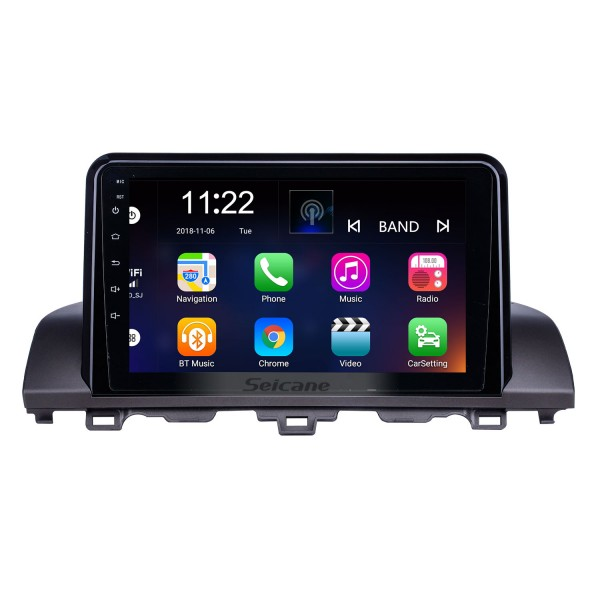 HD Touchscreen 9 inch Android 10.0 GPS Navigation Radio for 2018-2019 Honda Accord 10 with Bluetooth support Carplay TPMS DAB+