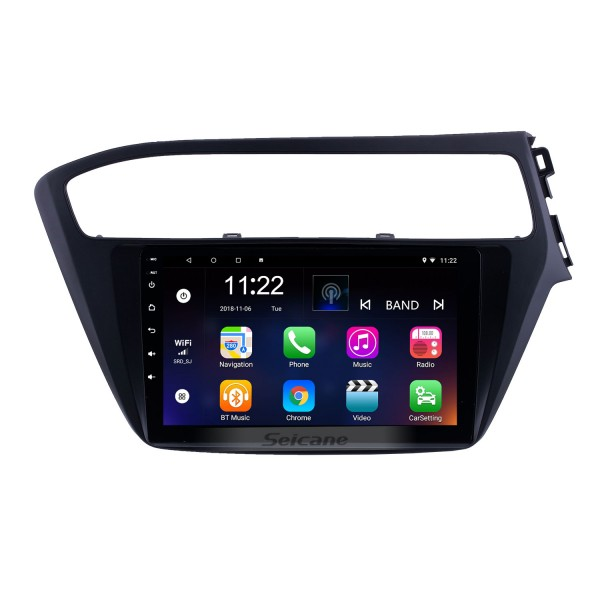 OEM 9 inch Android 10.0 Radio for 2018-2019 Hyundai i20 RHD Bluetooth Wifi HD Touchscreen GPS Navigation support Carplay DVR OBD Rearview camera