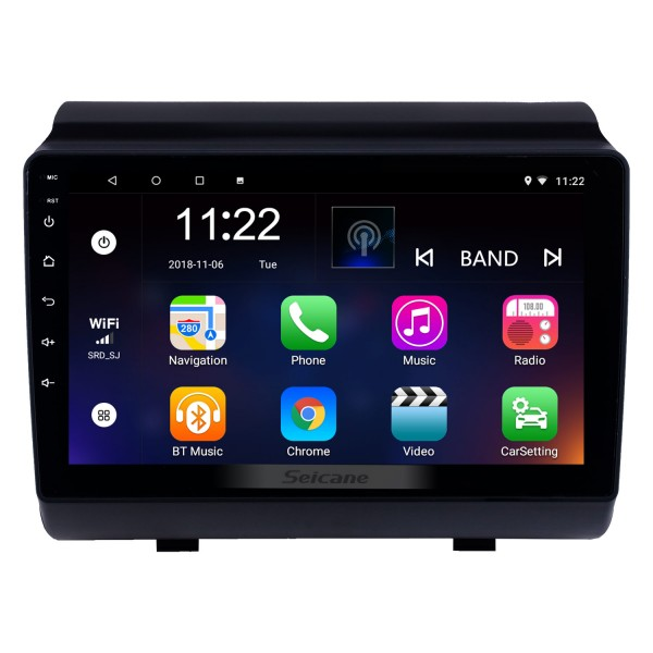 Android 10.0 9 inch Touchscreen GPS Navigation Radio for 2018-2019 Hyundai ix35 with Bluetooth USB WIFI AUX support Rear camera Carplay SWC TPMS