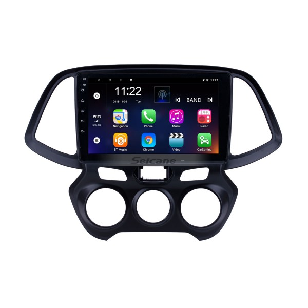9 inch Android 10.0 GPS Navigation Radio for 2018 Hyundai Santro/Atos with HD Touchscreen Bluetooth support Carplay Steering Wheel Control