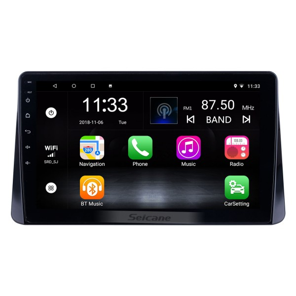 10.1 inch Android 10.0 for 2018 Mitsubishi Eclipse Cross Radio GPS Navigation System With HD Touchscreen Bluetooth support Carplay DVR