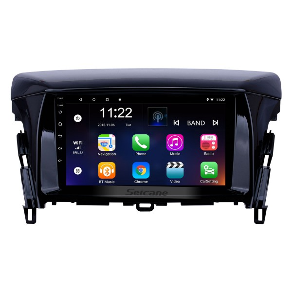 OEM 9 inch Android 10.0 Radio for 2018 Mitsubishi Eclipse Bluetooth WIFI HD Touchscreen GPS Navigation support Carplay DVR Digital TV